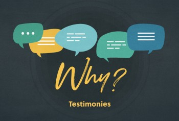 Why Do We Share Testimonies Every Week?